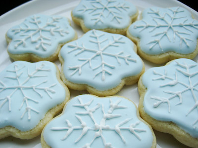 A recipe for sugar cookie frosting