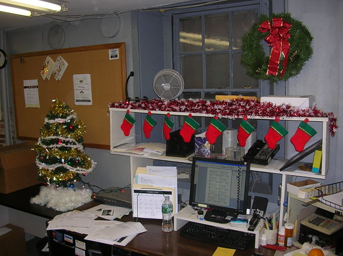 My Festive Desk 2