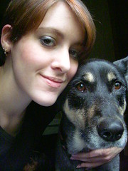 Me and Snicker (Silent Orchestra) Tags: portrait people dog selfportrait girl animal snicker girlanddog silentorchestra laughlovehope