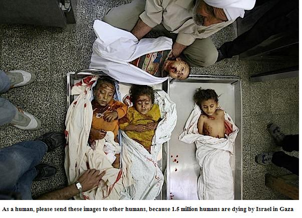 DEAD CHILDREN OF GAZA 2