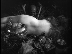 h a x a n (vvitch) Tags: bw film girl beauty nude skull blackwhite back still magick silent witch surrealism bare longhair medieval nuns pale torture devil witches witchcraft hex crossbones witchy demons witchery hourglass persecution witchtrials sorcery haxan hxan