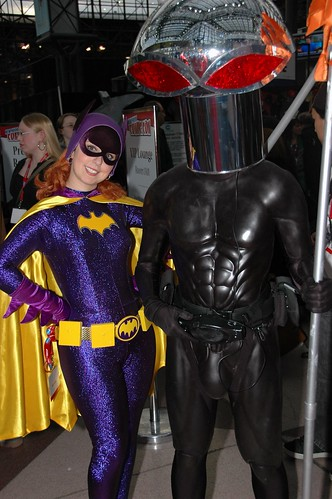 Batgirl and the Manta
