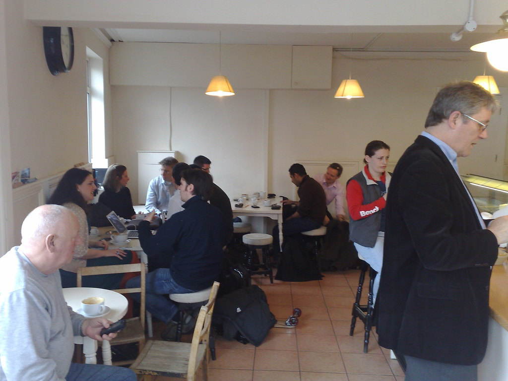 The first Thames Valley Social Media Cafe, Workhouse Coffee, Reading