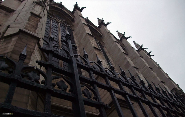 Extérieur de la Sainte Chapelle