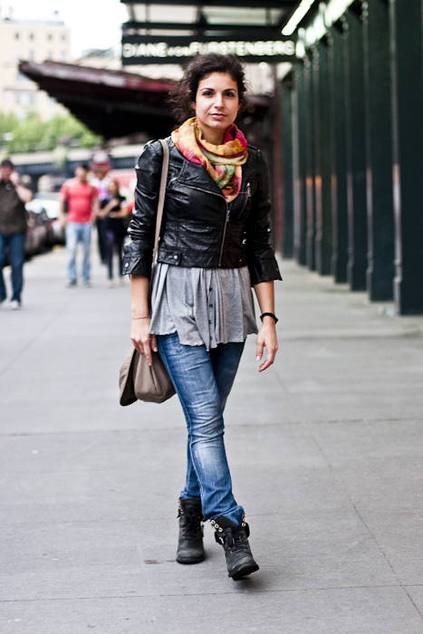 Summer Scarf, Street Fashion @ Meat Packing District, New York City