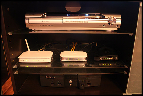 Home Theater Components Set 1