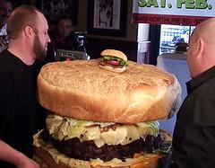 grootste hamburger