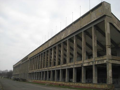 Front of Strahov stadium