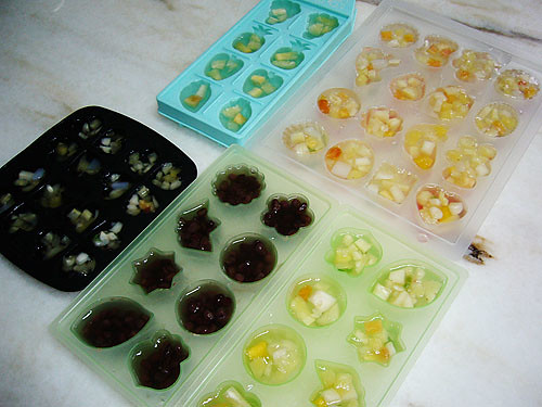 jelly in mould