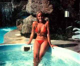 Kathy Dupure in a Bikini