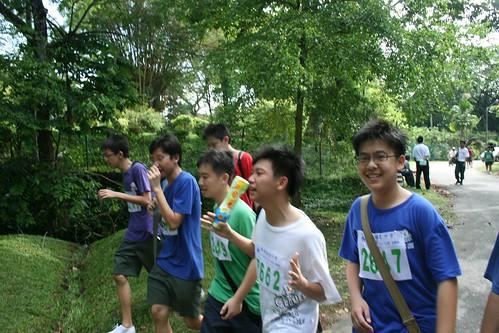 Chung Ling High School Cross-Country Run #