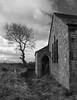 Deserted chapel (Mr Grimesdale) Tags: mono sony ruin chapel lancashire spooky derelict ormskirk mrgrimsdale stevewallace dsch2 photofaceoffwinner pfosilver mrgrimesdale grimesdale scarthhill wesleyenchapel