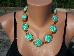 Turtles??? (clayangel_sc) Tags: art beauty fashion one necklace beads artist handmade originalart ooak jewelry polymerclay fimo clay gift canes sculpey handcrafted wearableart accessories bracelets earrings etsy wearable acessories brooches necklaces polymer millefiori artjewelry hypoallergenic adornments artisanjewelry canework handmadebeads artbeads handcraftedbeads pcagoe notpainted polymerclayjewelry polymerclaycanes oneofakindjewelry fauxjewelry southcarolinaartist jewelryartisan boldjewelry clayangel oneofakindpiece clayangelsc nopaintisinvolved athousandflowers finising