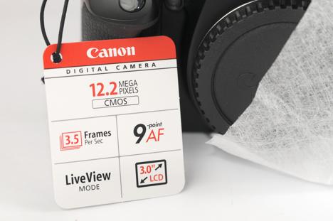 Canon XSi / 450D tag