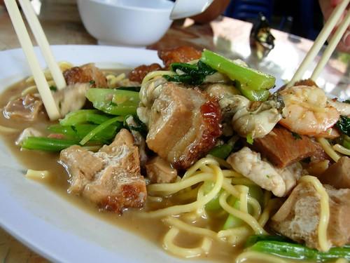 pork leg noodles