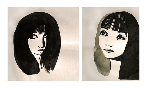 Laure Pointereau - Illustration - Portraits