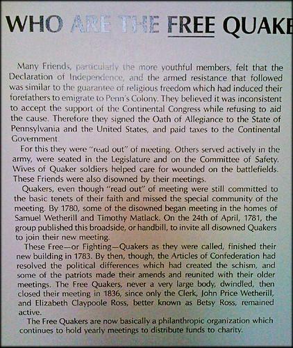 free-quakers