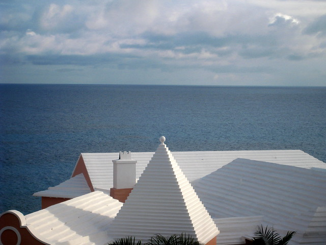 White  Bermuda Roof Tops