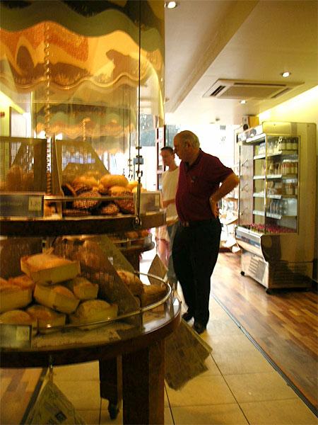 ロンドンのパン屋さん