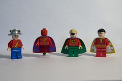 DC Hero Minifigs - Wave 4 (levork) Tags: comics justice dc lego flash hero superhero minifig minifigs greenlantern society league captainmarvel redtornado jaygarrick