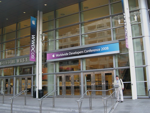 The Entrance to Moscone, site of Apple's World Wide Developer Conference
