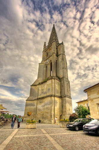 St Emilion church