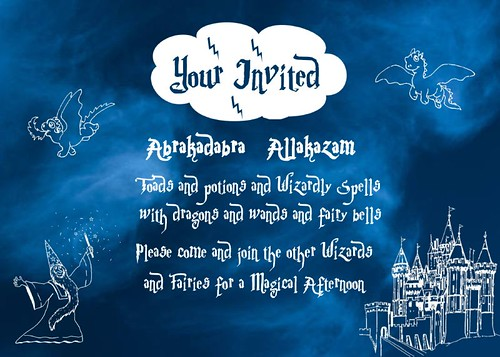 Wizard Invitation