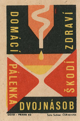czechoslovakian matchbox label (maraid) Tags: food glass warning czech prague praha alcohol packaging czechrepublic brandy 1960s 1962 homebrewing czechoslovakia czechoslovakian matchboxlabel solosusice uuzo