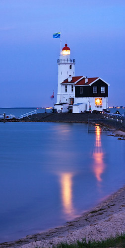 Lighthouse in Marken