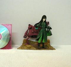 Mai in Diorama (wilbura59) Tags: dragonball dragonballz dragonballgt