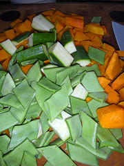 veg for Thai vegetable curry