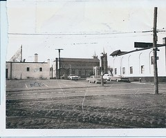 480 Benefit Street. Our Lady of the Rosary Church. Mayfair Laundry (right).  Photo courtesy Lou Costa (Fox Point Photo History) Tags: church bowling benefitstreet ourladyoftherosarychurch