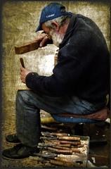 Mastro Geppetto Istriano (_Asterione_) Tags: carpenter istria nikonf80 geppetto istra motovun istrien montona istriano asf010 istrians