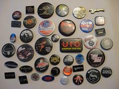 Rock Concert Badges 70`s & 80`s - by Watt_Dabney