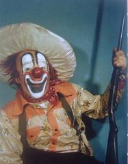 Clown + .22 = no thanks