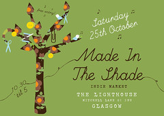 Made In The Shade Flyer - 25th October 2008