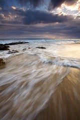 Movement of the Tide (Nick Carver Photography) Tags: ocean california park sunset sea summer usa cloud storm beach nature water rock vertical clouds landscape outdoors coast landscapes us rocks surf waves pacific tide nick wave stormy carver wilderness southerncalifornia orangecounty tides crystalcovestatepark clearingstorm wildlifereserve natureparks nickcarver ncpfineartprint