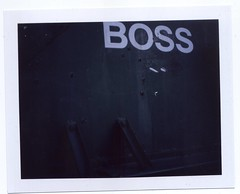 Boss (grahamcase) Tags: polaroid landcamera fuji100c polaroidautomatic103