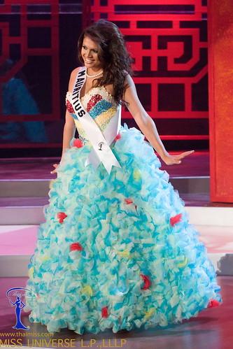 traje típico de Miss Mauritania