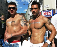 Oh Yeah (Su--May) Tags: gay men london muscles fun happy hobby nike tattoos afterwork justdoit hunks ohyeah manhunt sumay londonpride2008 extraactivities oldcomptionst sixpacs