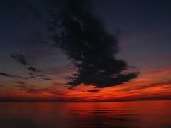 Lake Michigan at dusk (kevin dooley) Tags: new sunset red sky favorite orange lake chicago color reflection water beautiful clouds wow dark grey interesting fantastic buffalo colorful flickr pretty very dusk good michigan gorgeous awesome award superior super best explore most winner stunning excellent much incredible breathtaking exciting phenomenal newvision peregrino27newvision