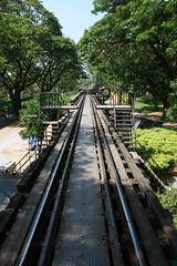 Thailand: Bridge on the River Kwai (eliduke) Tags: thailand kanchanaburi kwai
