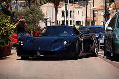 Blue Maserati MC12 (Julien Rubicondo Photography - julienrubicondo.com) Tags: blue summer car harbor montecarlo monaco mc exotic carlo 12 monte luxury rare supercar mc12 coches maserati supercars masrati