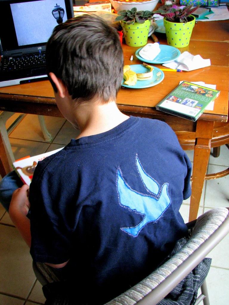 Reverse Applique T-shirt (back)
