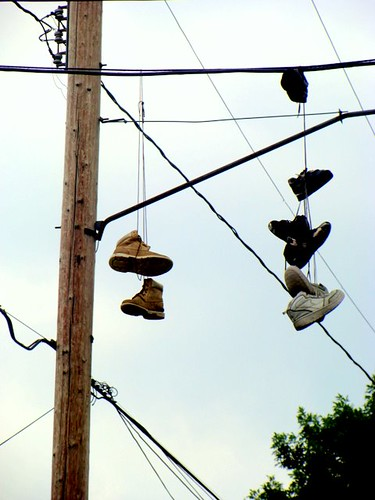 Shoes on the Wire by you.