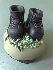Combat Cakes (SmallThingsIced) Tags: green cakes army boots camoflauge thefunhouse