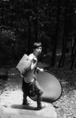 * (lian) Tags: summer portrait bw film memory hangzhou 2008 lian contaxg1 swamsprite kodak200colorplus carlzeissplanart245