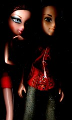 DILLON AND LILANI (2BRINGHOPE) Tags: color fashion sisters nice modeling quality pic dillon fav picnik bratz lilani