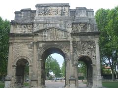 103. Orange. Arc de Triomph (2) (Leonard Zelig) Tags: orange france provence romanempire imperirom