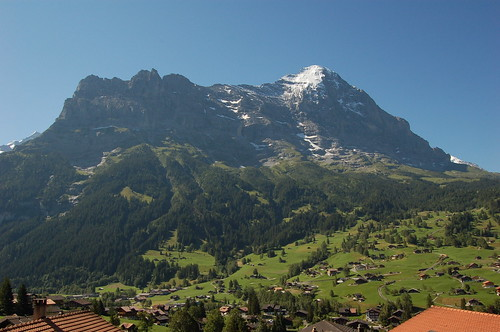 Grindelwaldの街